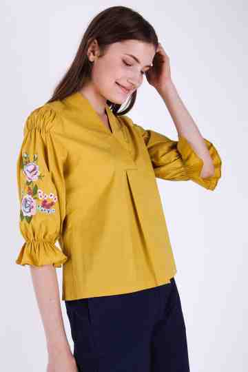 Carryn Embroidery Blouse
