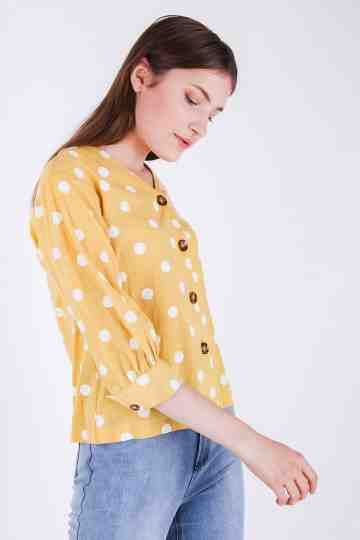 Dollin Polkadot Blouse