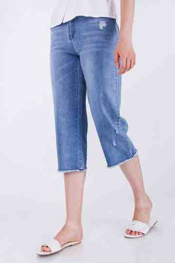 Denim Cullote Pant