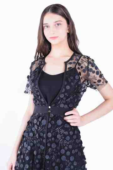 Tunic Brocade Blouse + Ttop