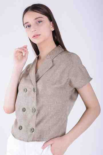 Blouse With Buttons BL-156