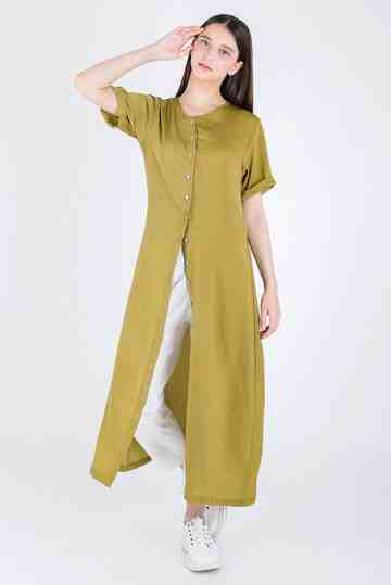 VISCOSE LONGBLOUSE DS-51