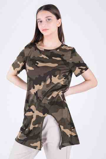 FRONT OPEN ARMY BLOUSE