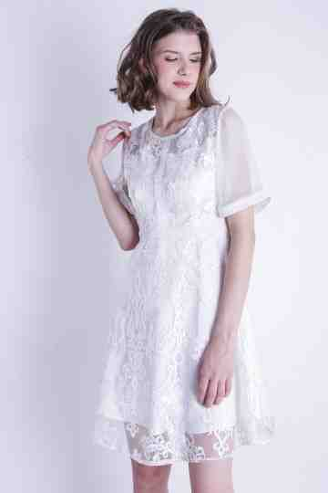 ORGANZA LACE DRESS