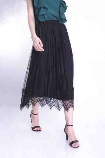 TWO WAY TULE MAXI SKIRT