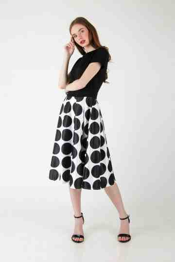 POLKADOT DRESS 4648