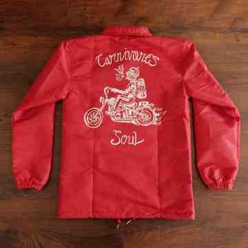CHOPPERLIFE Coach Jacket (Red) image