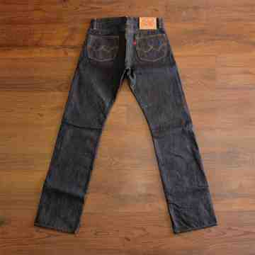 KAISER 19 Oz Unsanforized HEAVY SLUB SELVEDGE image