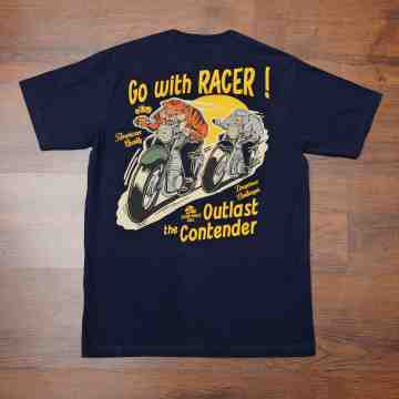 GO WITH RACER Tee image
