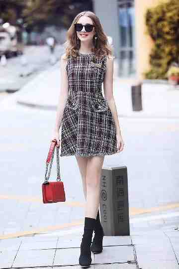 Arora Tweed Dress