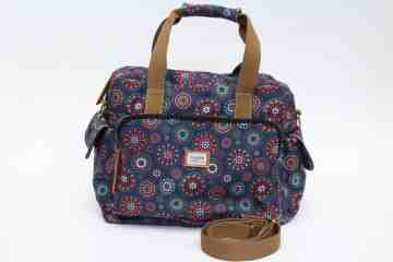 Boho circle travel bag series image
