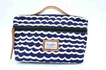 Blue ocean cosmetic pouch series image