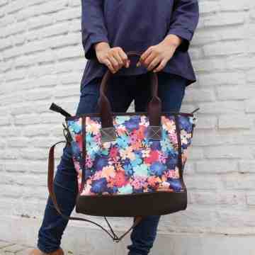 (PRE ORDER) Tote Bag Cute Floral Canvas image