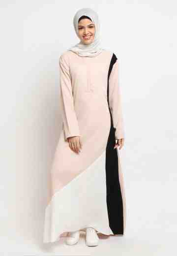 Gamis 3 Ways - Cream