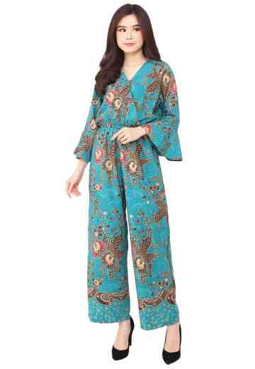 Jumpsuit Long Bell Sleeve Tosca Queen Fan
