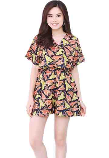 Jumpsuit Short Pants Autumn Holiday