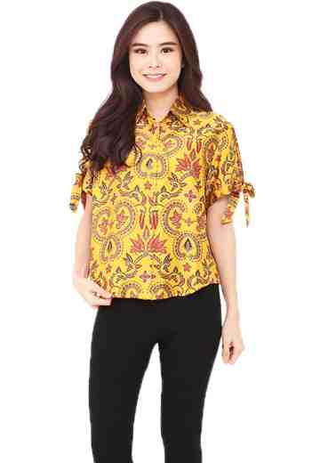 Kimmy Shirt Yellow Aurora