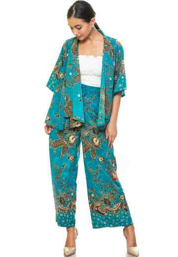 Set Cardigan & Cullote 05 Tosca Queen Fan (No Inner)