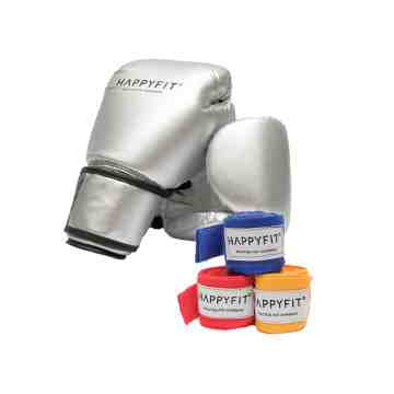 Bundling Package Boxing Gloves & Hand Wraps