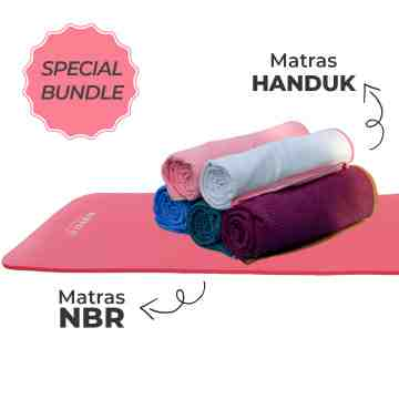SPECIAL BUNDLE NBR MAT & YOGA TOWEL