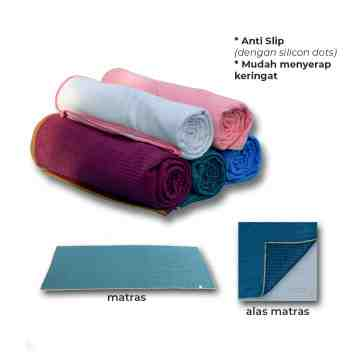 Yoga Grip Towel Mat with Silicon Dots
