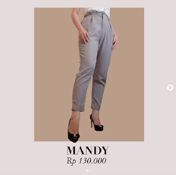 Mandy Pants -  Grey