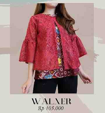Walner Batik Top