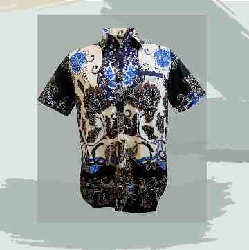 Aluna / Sally / Silvie / Delia / Ester Batik Men Short Sleeve