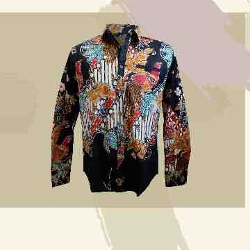 Clau / Brenda / Yemima / Hera Batik Men Long Sleeves