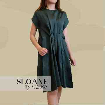 Sloane Dress - Emerald