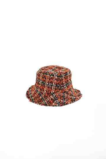 City - Saffron tweed bucket hat image