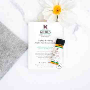 KIEHL'S - Nightly Refining Micro-Peel Concentrate - Travel Size 4ml