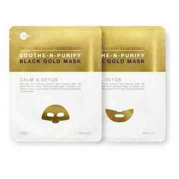 SKIN INC – Soothe N Purify Black Gold Mask (Single Pack)