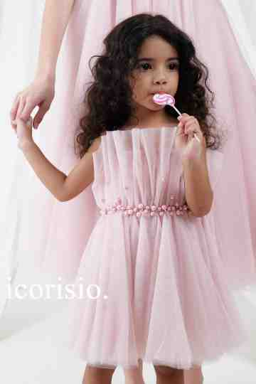 NUTCRACKER DRESS - SOFT PINK // LITTLE ICORISIO image