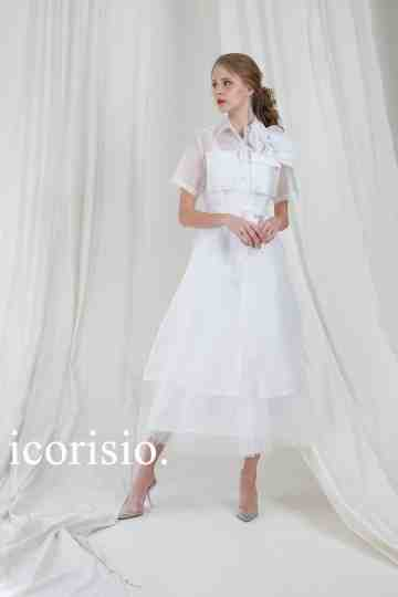 FOISON SHIRT DRESS 01 - OFF WHITE image