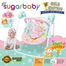 Sugar Baby Gold Edition Premium Swing Bouncer Pinky Summer