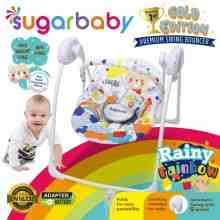 Sugar Baby Gold Edition Premium Swing Bouncer Rainy Rainbow