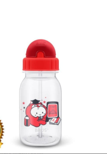 Bros Crystal Plus (Straw) Baby Cody Size 350ml