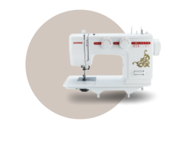 Mesin Jahit Flat Bed Janome Tipe NS-726A image