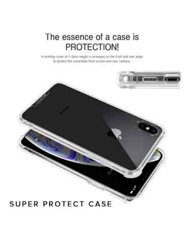 Goospery - Super Protect Case for iPhone X & iPhone XS - Clear