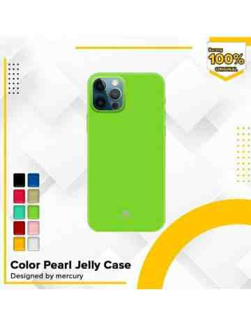 Goospery - Pearl Jelly Case for iPhone 12 6.1 & iPhone 12 Pro 6.1 - Black