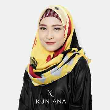 KERUDUNG VOAL MICKEY 06 BY KUN ANA