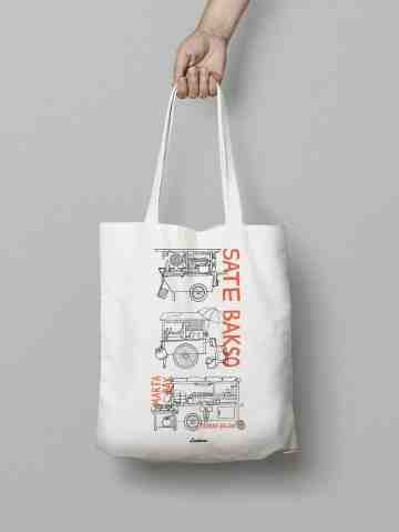 Street Food Totebag image