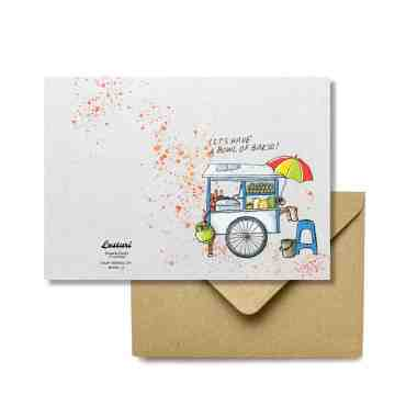 Bakso Greeting Card image