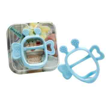JEMJEM Monster Teether - Blue