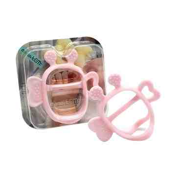 JEMJEM Monster Teether - Pink
