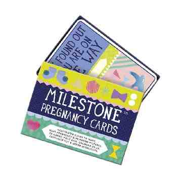 Milestone Pregnancy Cards Original