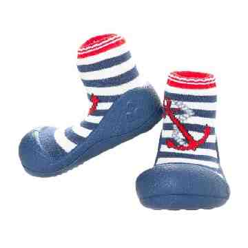 ATTIPAS Shoes Socks - Marine