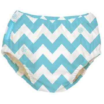 Charlie Banana Swimdiapers - Blue Chevron