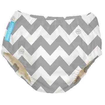 Charlie Banana Swimdiapers - Grey Chevron